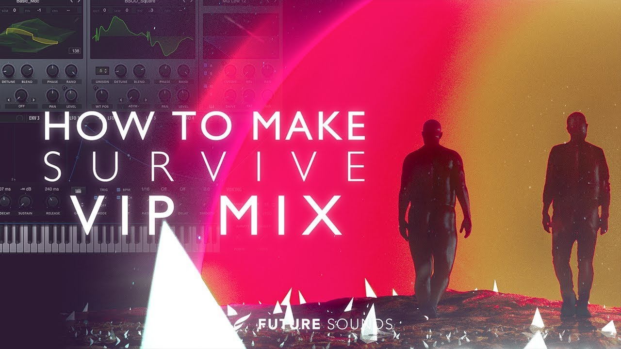 HOW TO MAKE:Don Diablo - Survive feat. Emeli Sandé & Gucci Mane (VIP Mix) [Remake]