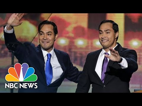 Joaquin Castro Announces Brothers Presidential Bid On 'Stephen Colbert' | NBC News