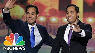 Joaquin Castro Announces Brother's Presidential Bid On 'Stephen Colbert' | NBC News