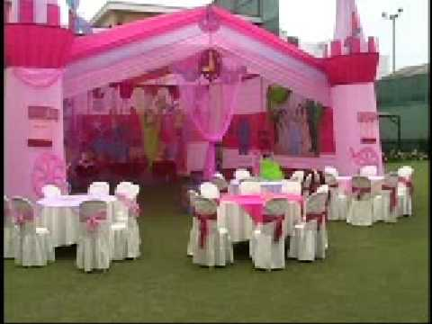 Fiestas infantiles princesas decoazul decoracion youtube for Decoracion de fiestas
