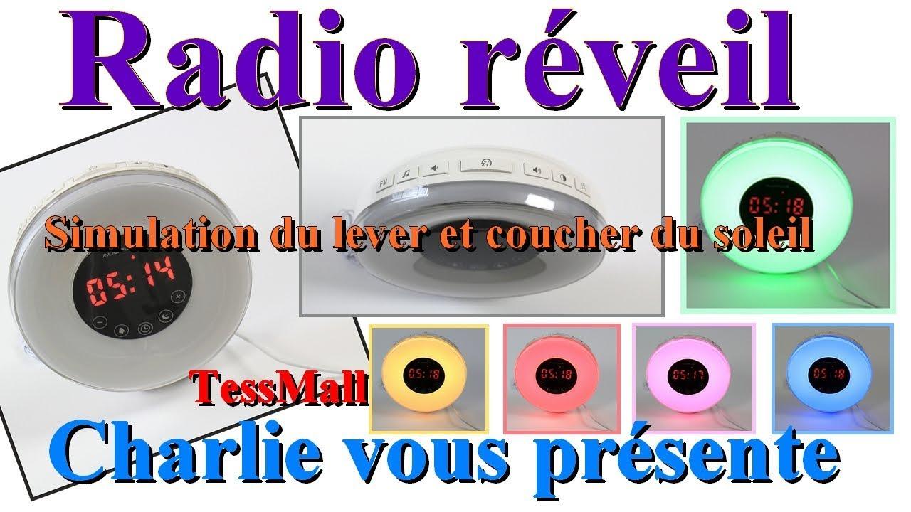 Avec Réveil Levercoucher Fm Chevet Radio Auoplus Simulation SoleilLampe Du De PXkuZi