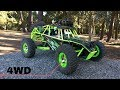 unboxing carro rc 4x4 off-road