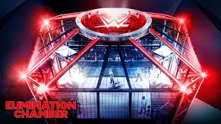 Watch as this year's Elimination Chamber structure is constructed live
