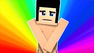 STRIP NAKED IN PUBLIC?! | Minecraft Most Likely To | Gizzy Gazza