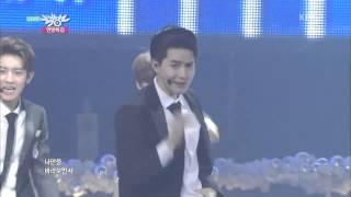 EXO 엑소 '으르렁 Growl ' KBS MUSIC BANK 2013 12 20