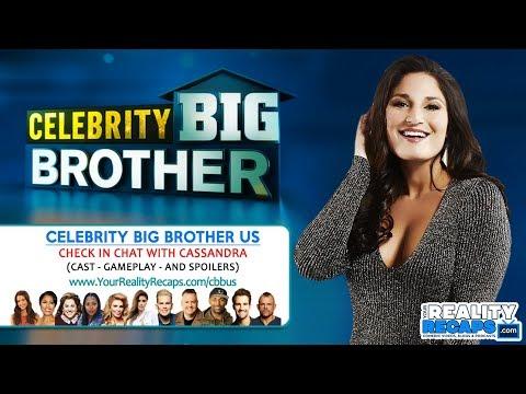 CELEBRITY BIG BROTHER USA:  w/ BBCAN Cassandra!