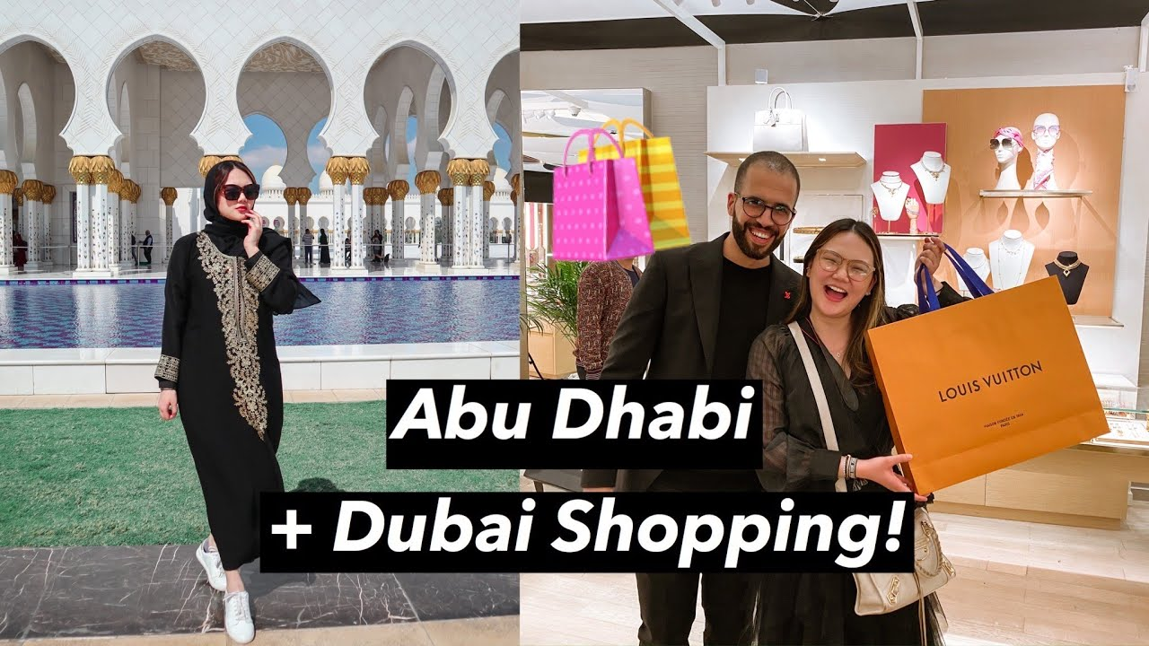 Abu Dhabi Shop With Me In Dubai Rimowa Lv Gentle Monster Ashley Sandrine Youtube