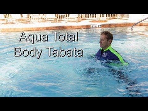 Aqua Total Body Tabata Shallow Water Youtube