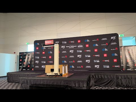 #UFC257 official weigh-ins from 'Fight Island'