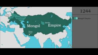 The History of the Mongols - Every Year