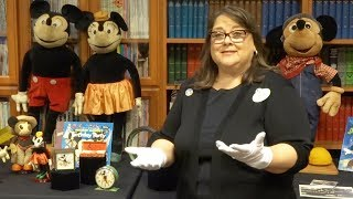 Walt Disney Archives - Mickey Mouse exhibit tour