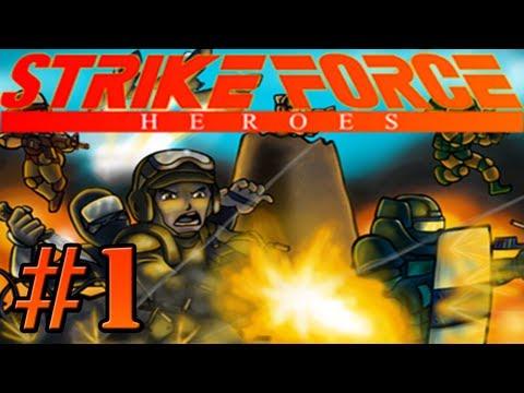 Strike Force Heroes - Lets Play, Part 1 - ARNOLD SCHWARZENEGGER