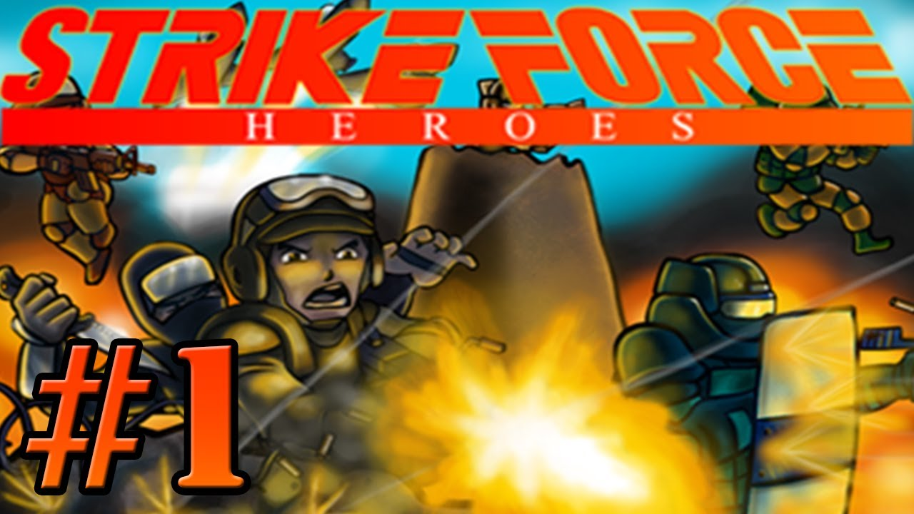 Strike force heroes let s play part 1 arnold schwarzenegger