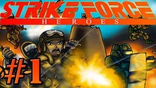 Strike Force Heroes - Let's Play, Part 1 - ARNOLD SCHWARZENEGGER