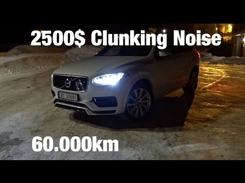 Volvo XC90 T8 2017 Air Suspension Clunking - 2500$ Warranty Repair 60.000km