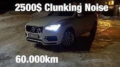 Volvo XC90 T8 2017 Air Suspension Clunking - 2500$ Warranty Repair 60.000km