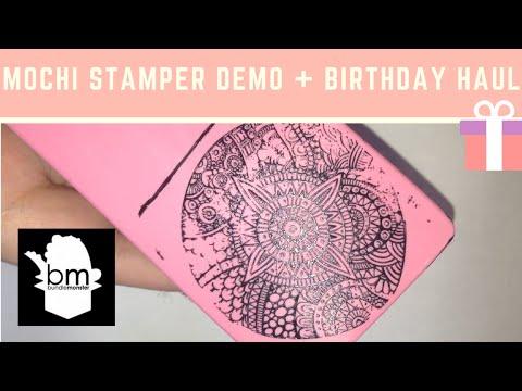 Bundle Monster Mochi Stamper Demo + Birthday Haul!