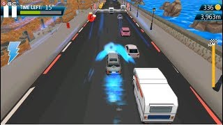 """Street Racing 2019 """"Seaside Drive"""" Speed Car Traffic Racer Games - Android Gameplay FHD #3"""