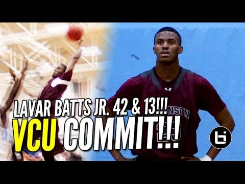 Lavar Batts Jr. Drops 42 pts & 13 rebs in Conference Matchup!