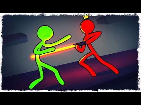 ДЖЕДАЙ НЕУДАЧНИК vs ЗМЕИ В STICK FIGHT THE GAME!!!