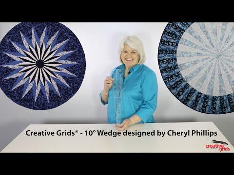 Creative Grids® Ten Degree Wedge - CGRCP1