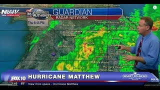 FNN: Hurricane Matthew WATCH - Live Images from Florida, CATEGORY 4 HURRICANE thumbnail