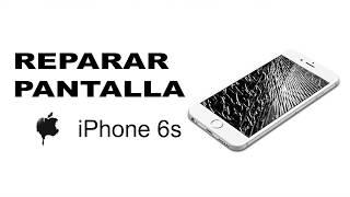 Como reparar la pantalla del iphone 6s