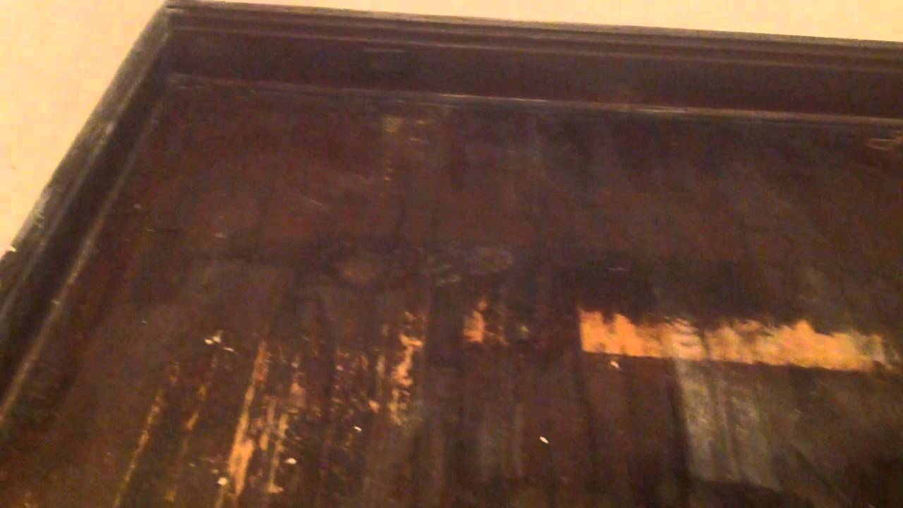 Saving 100 year old wood floors without sanding  YouTube