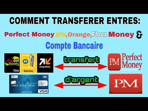 Retrait Perfect Money Vers Mobile Money ( Orange, Mtn Et Flooz) Et Carte Bancaire