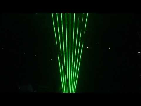 Front Row Seats - Jean-Michel Jarre at the SSE Hydro, Glasgow : 14.10.16