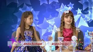 TALENT SHOW la CNS TV cu ARIANA CREANGA & AMALIA BUZDUGAN