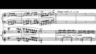 Argerich and Kissin play Lutoslawski - Paganini variations Audio + Sheet music