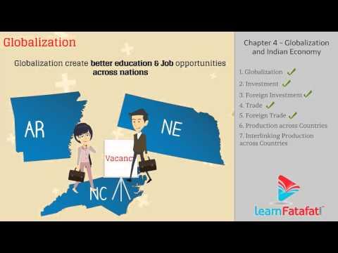 Economics - 4.1 - Globalization And Indian Economy
