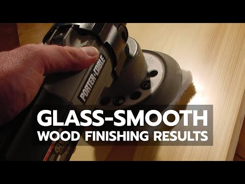 WOOD FINISHING: Glass-Smooth Results With Polyurethane