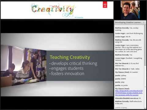 Developing Creative Learners in K – 12 Classrooms