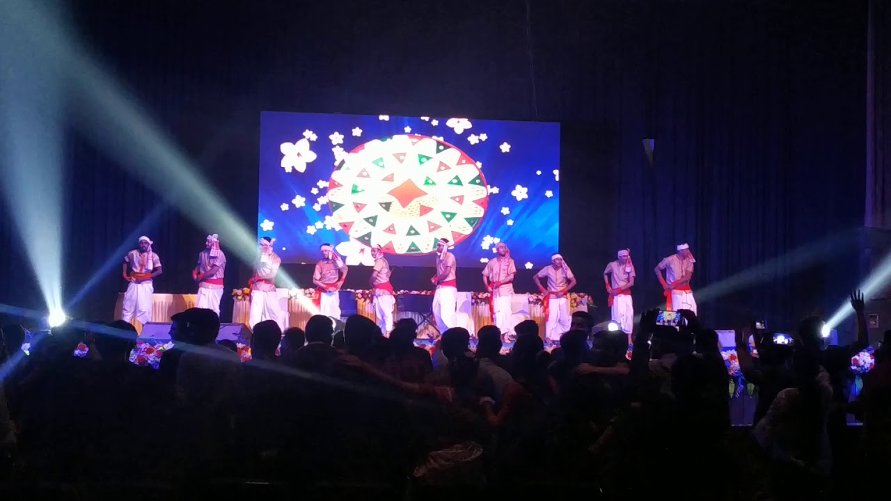 Bihu dance // Assamese cultural show performed by Regional Dental college student , Guwahati