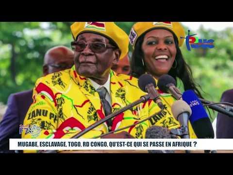 """""""SANS FRONTIERES"""" Mugabe, Esclavage en Libye, Togo, RD Congo, qu'est-ce qui passe en Afrique?"""