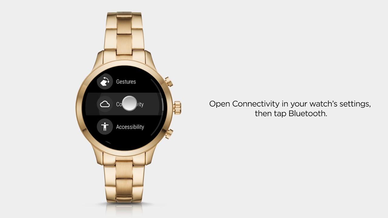 Michael Kors Access Runway Smartwatch | Using Bluetooth