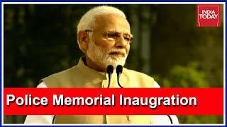 PM Modi Inaugurates National Police Memorial In Delhi