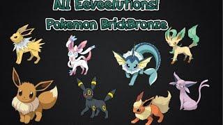 Pokemon Brick Bronze   How To Evolve The Eeveelutions