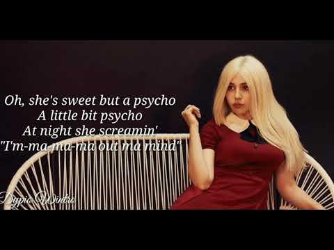 ava-max_-sweet-but-psycho(official-lyrics-video)