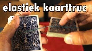 DE ELASTIEK KAARTTRUC MET UITLEG!