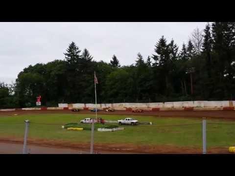 St. Helens River City Speedway 5-16-15 Sportsman Heat Race 1