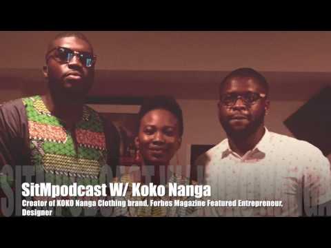 Koko Nanga Talks Clothing Brand, Forbes Magazine Feature, Designing
