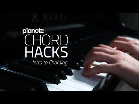 Piano Chord Hacks #1: Intro To Chording (Piano Lesson)
