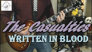 The Casualties - Written In Blood - Guitar Cover (Tab in description!)