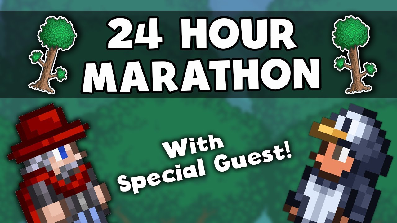 Full 24 Hour Charity Marathon!