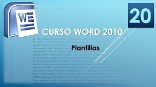 En word 2010 plantillas