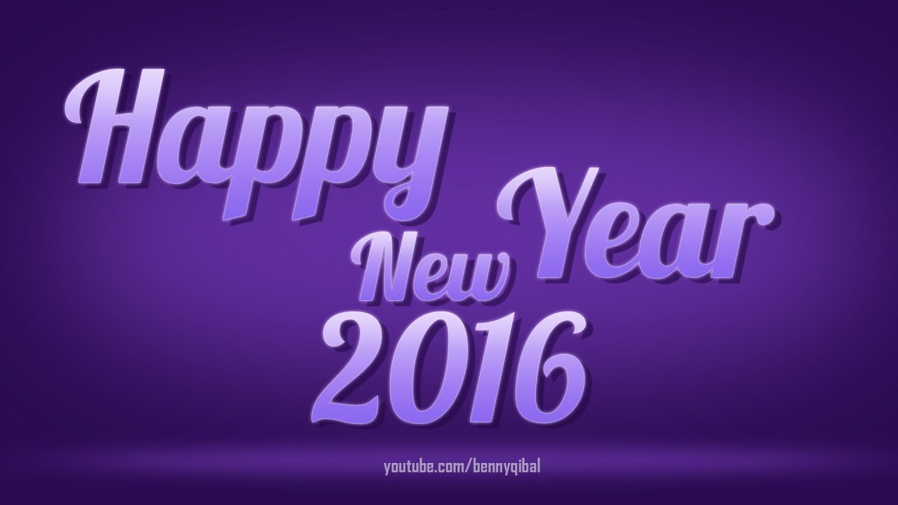 Create wallpaper happy new year 2016 text effect photoshop create wallpaper happy new year 2016 text effect photoshop tutorial baditri Gallery
