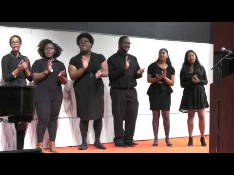 Randolph-Macon College: Ujima Gospel Choir - MLK Celebration 2017